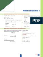 ANÁLISIS DIMENSIONAL II - POLI III
