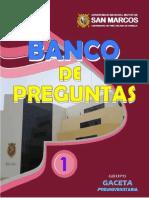 [GACETA PRE-U] - Banco de Preguntas 2017