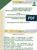PRESENTACION POLITICA DE CONTROL AMBIENTAL