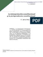 Interpretación Constitucional - Javier Diaz Revorio