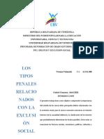 LOS TIPOS PENALES
