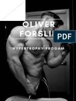 Oliver Forslin Hypertrophy Program