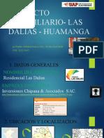 PROYECTO INMOBILIARIO- LAS DALIAS - HUAMANGA