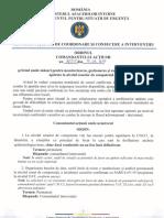 Ordinul Comandantului Actiunii Nr. 77755_21.06.2020 Privind Masuri Monitorizare, Gestionare, Raportare Situatii