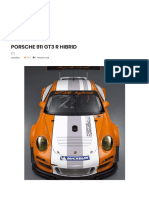 Porsche 911 Gt3 r Hibrid – Autotehnica