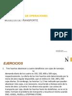PRACTICA DE MODELOS DE TRASPORTE