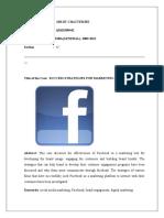 Facebook Marketing Strategies Case Study