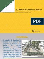 SESION 3 - MÉTODOS DE LOCALIZACIÓN DE BROWN Y GIBSON