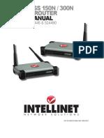intellinet manual config