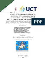 ACT. 03- NORMAS DE PERSONAL DE AUDITOR ADMINISTRATIVO