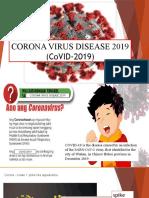 CORONA VIRUS DISEASE 2019