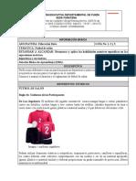 Futsal informacion, uniforme,etc. Ejercicios de práctica