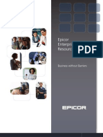 Epicor Enterprise Resource Planning BR ENS 0310