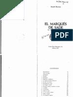 Hayman, Ronald - El Marqués de Sade