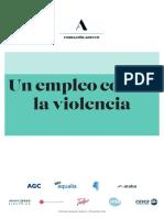 Un empleo contra la violencia