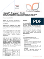 MS2760A HiViral Mediu de transport kit