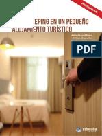 HOUSEKEPING EN UN PEQUEÑO ALOJAMIENTO TURISTICO