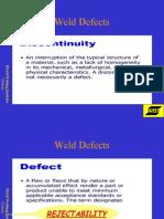 Weld Defects 2