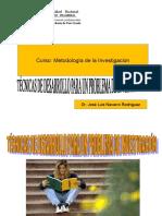 2.-TECNICAS PARA DESARROLLAR EL PROBLEMA DE INVESTIGACION