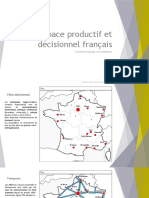 Mutations de l'Espace Productif Et Décisionnel Français