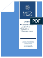 Guía 3 Generalidades-Sistema óseo-Cabeza ósea
