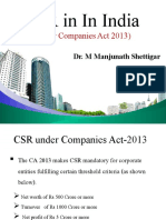 CSR -in India - Under Companies Act.pptx