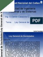 3.Ley General de Sociedades