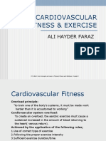 CARDIOVASCULAR FITNESS & EXERCISE