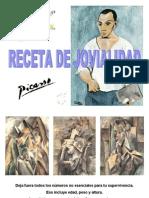 Picasso y la receta de jovialidad