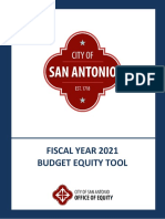 Budget Equity Tool