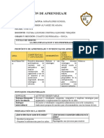FATIMA SANCHEZ- 15 DE JUNIO-MATEMATICA-SESION DE APRENDIZAJE