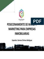 Posicionamiento de Marca y Mkting - Empresas Inmobiliarias