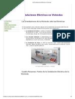 UD 6 Instalaciones Eléctricas en Viviendas