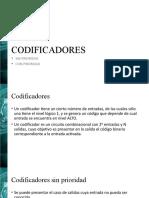 Codificadores y Decodificadores - CLASE 2018