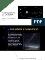 condiciones astronómicas de la tierra