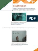 M11 S3 Metodo de Sustitucion PDF