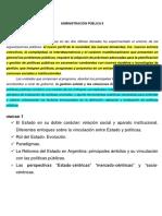 2016 Nuevo PROGRAMA Adm Pública