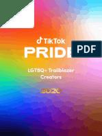 2020 LGBTQ+ TikTok Trailblazers