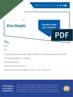 Kits Delphi parcial para reparação de bombas