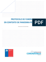 Protocolo de Funerales en Contexto de Pandemia Por COVID-19
