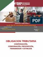 SEMANA 7- OBLIGACION TRIBUTARIA TRANSMISION Y EXTINCION