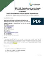 04-R. ANDRÉ COPPINI - CARTA CONVITE 001.04.20 – Levantamento Topográfico do Terreno