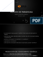 Clase 1 - Noción de Paradigma