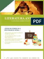 Literatura antigüa