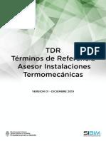 SIBIM-TDR Asesor Termomecanica