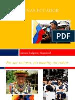 Indígenas Ecuador