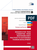 BEST PRACTICES TO SUSTAINABLE Tourism