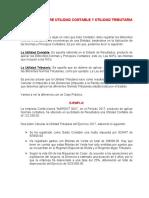DIFERENCIA ENTRE UTILIDAD CONTABLE Y UTILIDAD TRIBUTARIA.docx