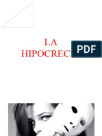 LA HIPOCRECIA