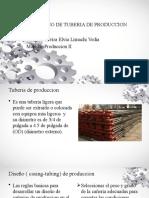 DISEÑO DE TUBERIA DE PRODUCCION EXPONER